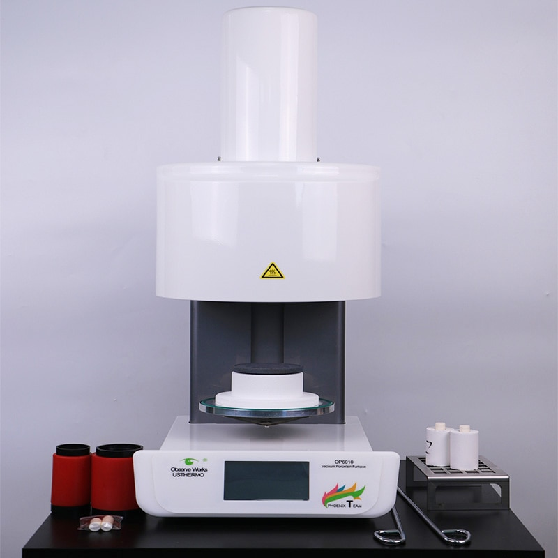 Fully Automatic Dental Press Furnace with Electronic Press Drive Coordinated with Ivoclar Vivadent Press Ceramic Materials