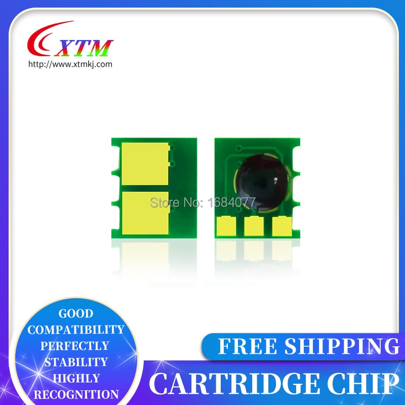120X para HP sensor 125 125a para laserjet CP1215 1215 CP1515 1515 CP1518 1518 CM1300MFP 1300 CM1312MFP 1312 toner chip cb540a
