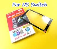 Защитная пленка из закаленного стекла для Nintendo Switch, защитная пленка для экрана, игровая цветная рамка для консоли для NS Switch, 18 шт.