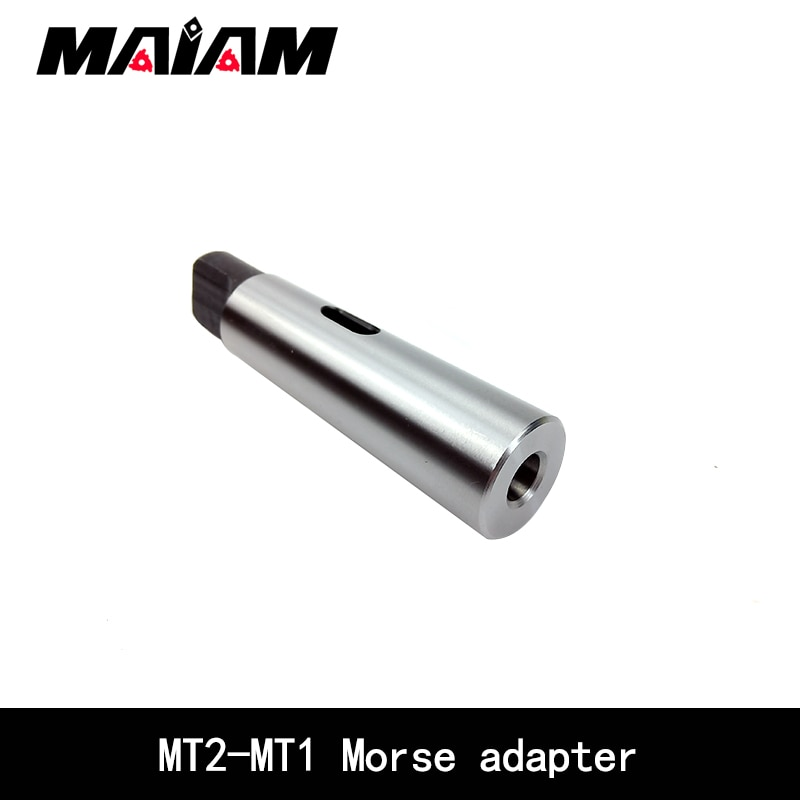 mt1 mt2 mt3 mt4 mt5 arbor morse taper adapter reducing drill sleeve for morse taper sleeve shank accessories 1 pcs Adapter Morse Cone MT2 Sleeve for MT1 Morse Taper Adapter Reduce Drill Sleeve MT2-MT1 Morse Taper Drill Sleeve tool holder