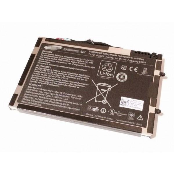 UGB genuino de PT6V8 P06T T7YJR 8P6X6 batería del ordenador portátil para...