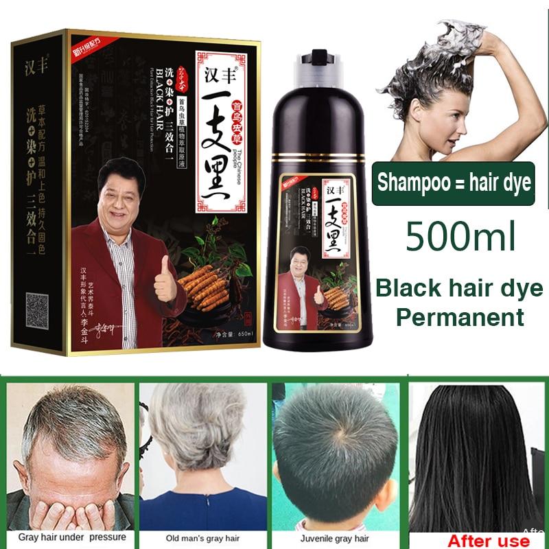 Mokeru Organic Natural Fast Hair Dye Only 5 Minutes Noni Plant Essence Black Hair Color Dye Shampoo For Cover Gray White Hair недорого