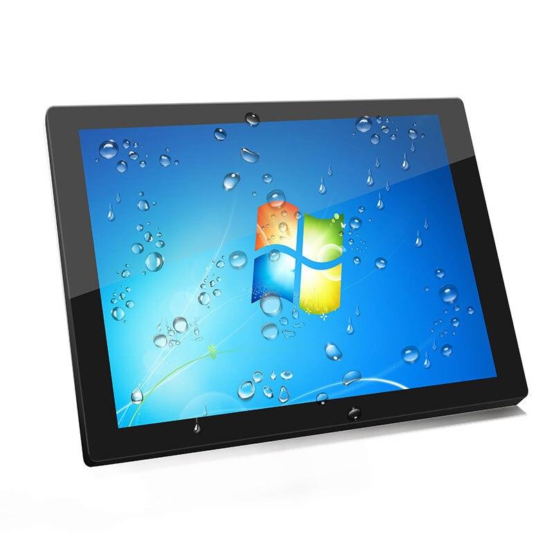 كمبيوتر لوحي صناعي بشاشة تعمل باللمس مقاس 12 بوصة مع Windows 7,8 ، وشاشة ألعاب مع كمبيوتر الكل في واحد