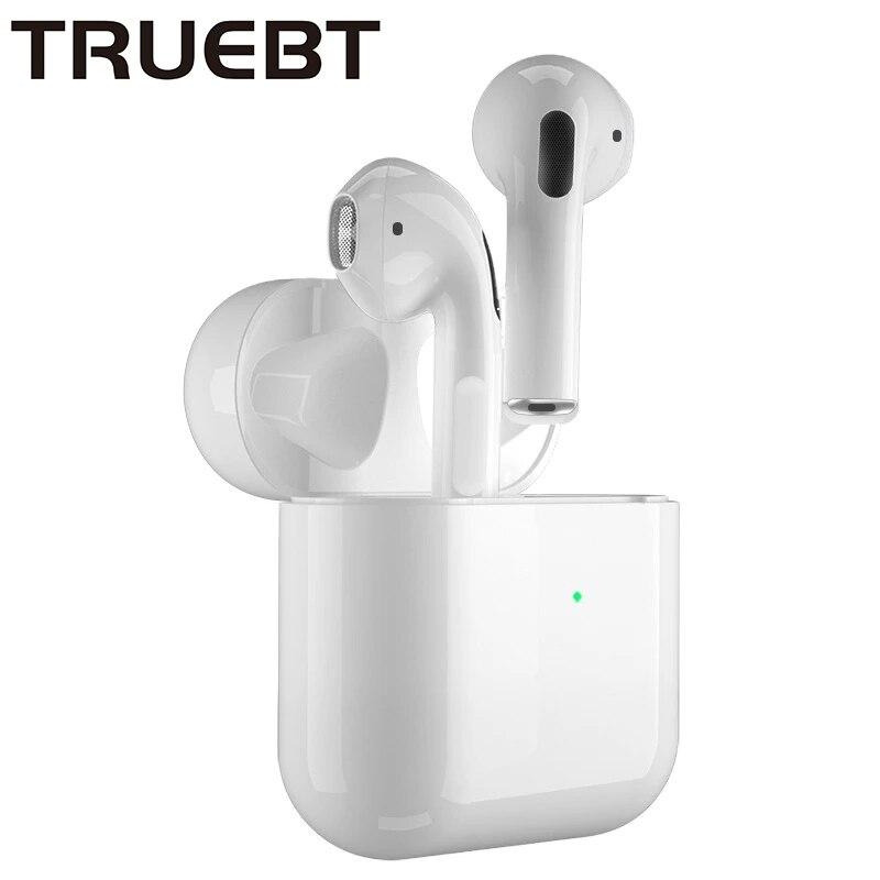 Bluetooth inalámbrico verdadero 5,0 auriculares con caja de carga auriculares impermeables, Control...