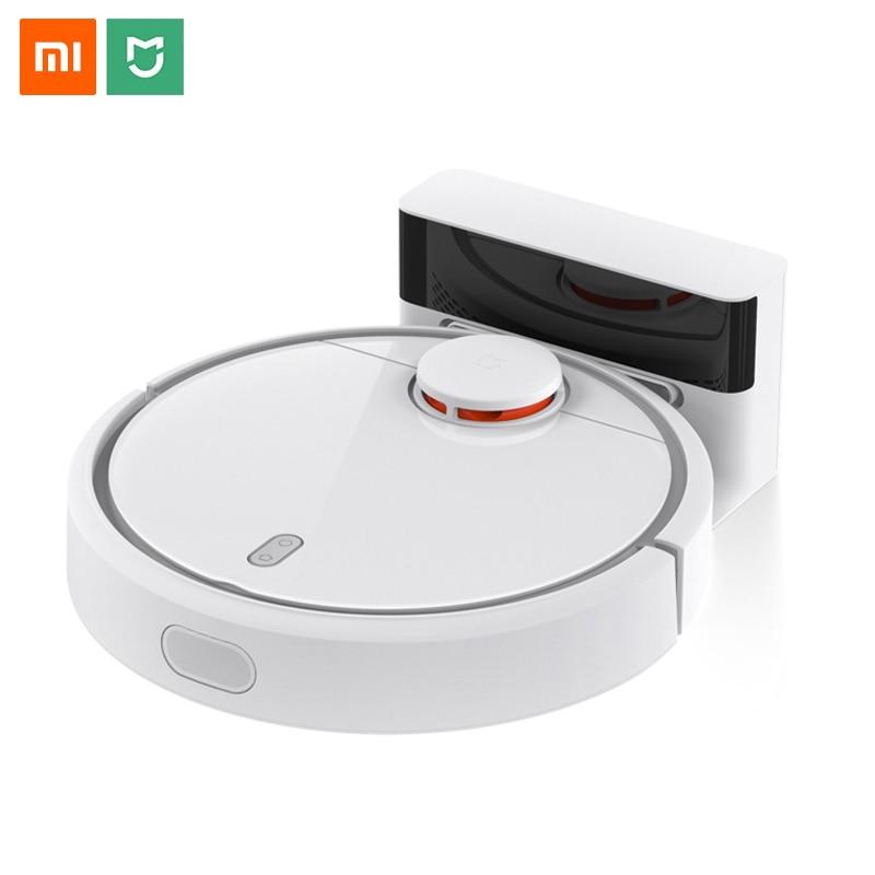 Xiaomi Robot süpürge ev otomatik süpürme akıllı planlanan Mijia App kablosuz kontrol Mi halı toz temizleyici