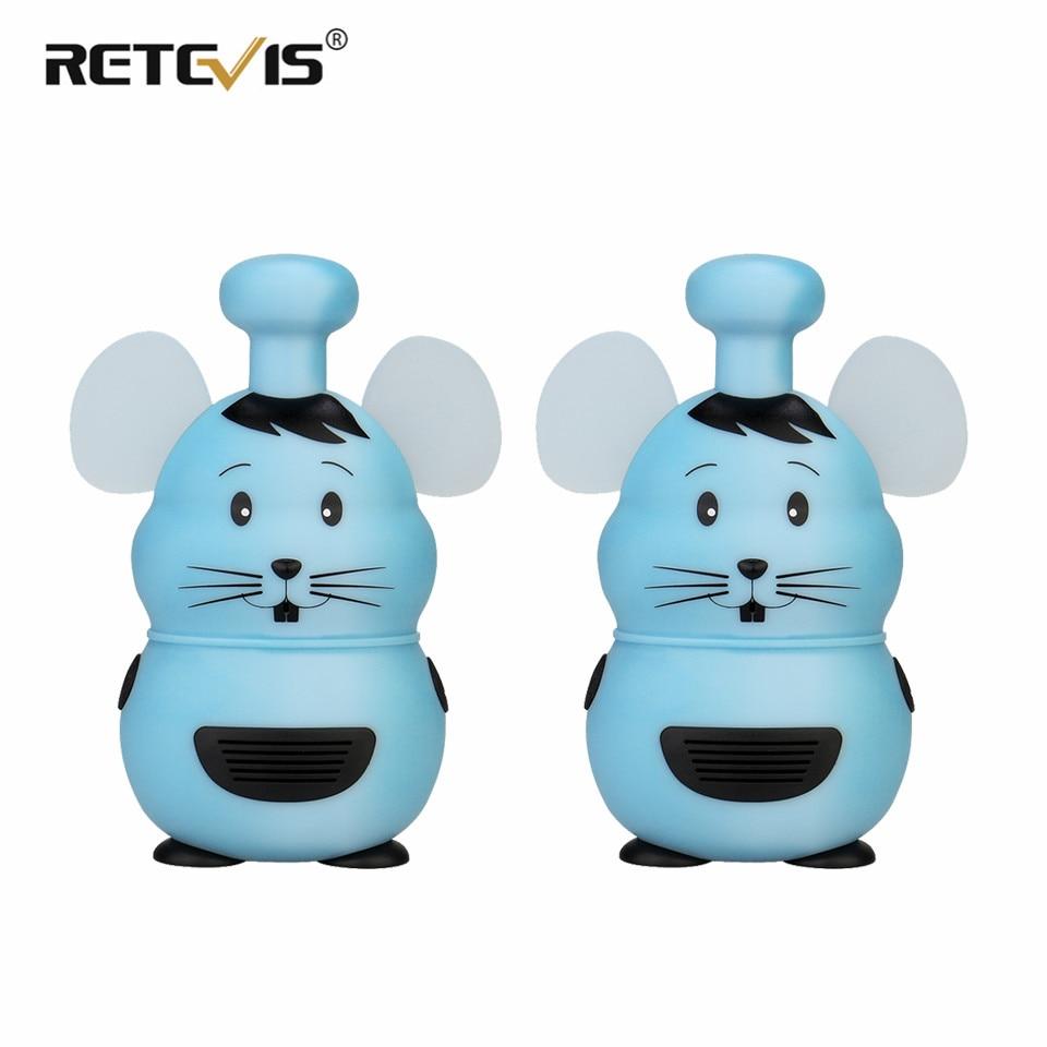 Портативная рация Retevis RT30M для детей, 2 предмета, милая Стильная Детская радиоприемник Walky Talky, детские игрушки, лучшие подарки для мальчиков и...
