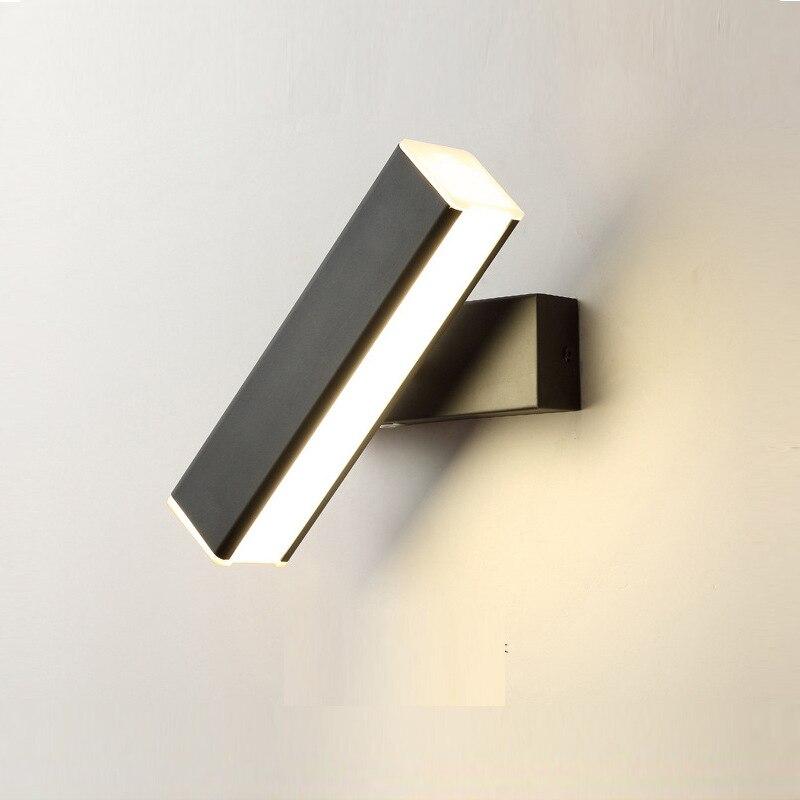 Lámpara led moderna aplique, luz de pared, pasillo, cabecera, dormitorio