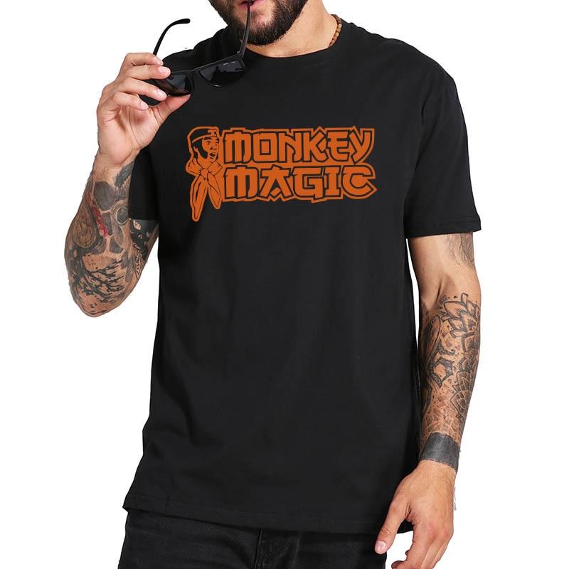 Mono mágico camiseta serie de animación japonesa mono Kongo camiseta novedad manga...