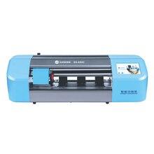 Découpeuse automatique de Film de SS-890C pour lécran daffichage à cristaux liquides de téléphone portable protégeant le Film de couverture arrière avec le Film Flexible dhydrogel