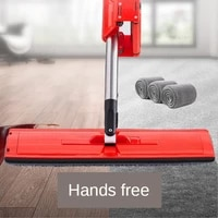 house cleaning magic microfiber pads floor scrubber paint rod mop kitchen lazy mopa mop for wash floor cleaner cleaning tool