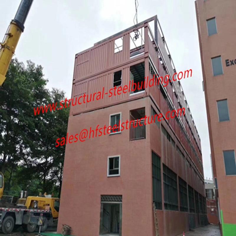 Модульный контейнерный дом модульный расширенный проект для школьных и офисных