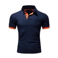 polo shirt men high quality brand mens polo shirt casual fashion cotton polo shirt short sleeve men breathable cozy men clothes