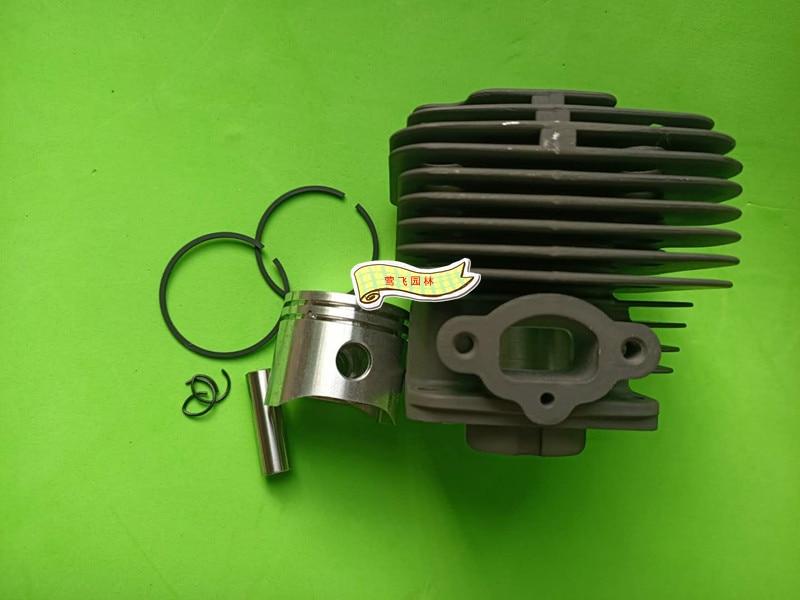 OM43 36 lawn mower grass trimmer cylinder piston ring set assembly for OleoMac 8430 enlarge