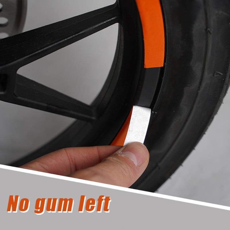 Bujes de rueda de Scooter pegatina reflectante protectora para-Xiaomi Mijia M365 Pro Scooter Eléctrico para piezas de Scooter M365