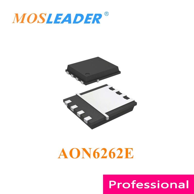 Mosleader AON6262E DFN5X6 100 قطعة 500 قطعة 1000 قطعة AON6262 QFN N-قناة 60V 40A الصينية عالية الجودة Mosfets