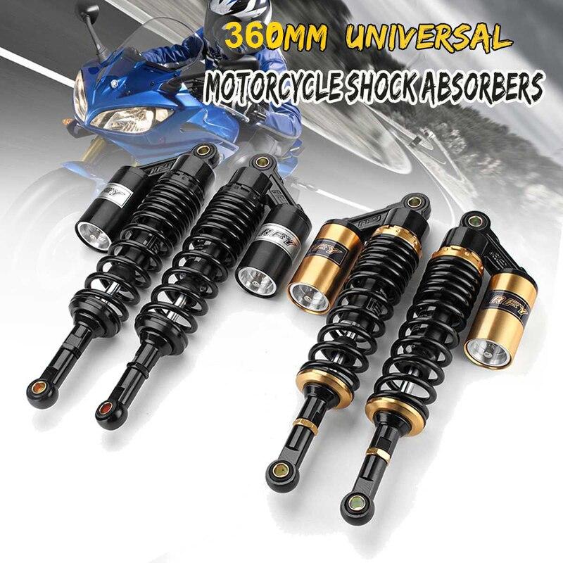 2x 360mm Front Shock Absorber Shocker Suspension For PIT QUAD DIRT BIKE ATV BUGGY