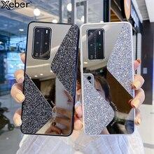 Étui à paillettes de luxe pour Huawei P40 Lite P30 Pro Mate 30 P 40 Nova 6 7 SE 5 5i brillant paillettes couverture Funda pour les femmes