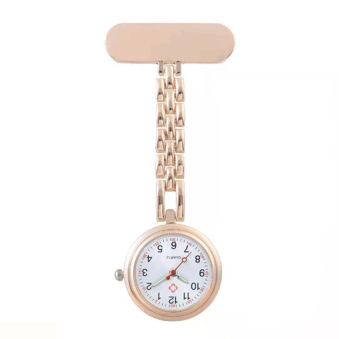 Наручные часы на цепочке, кварцевые часы с гравировкой имени, для медсестер, подарок на заказ