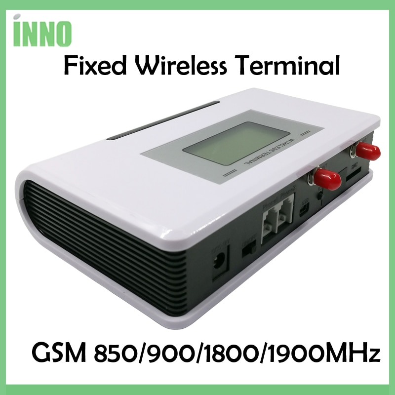 2pcs Fixed Wireless Terminal GSM 850/900/1900MHz, GSM Dialer 2 SIMs, Dual Standby, Support alarm system, PABX