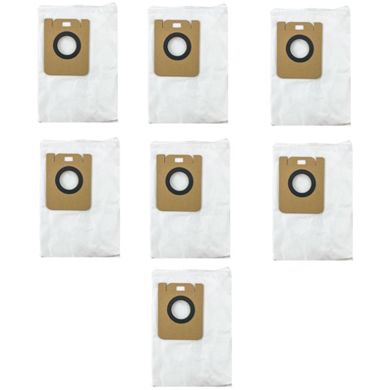 7 قطعة أكياس الغبار ل Dreame L10 زائد جهاز آلي لتنظيف الأتربة قطع الغيار كيس قمامة اكسسوارات
