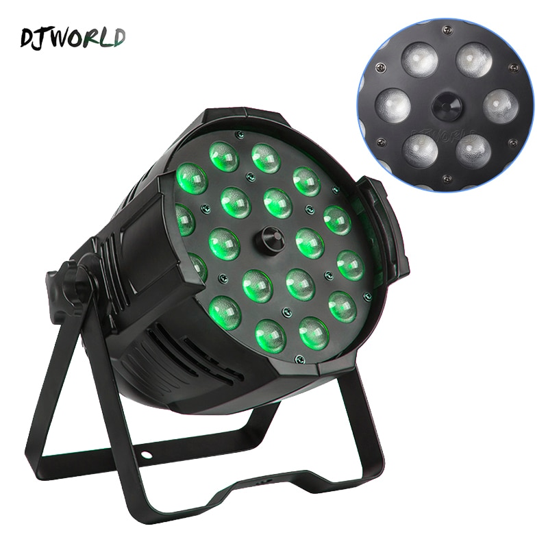 LED Zoom Par 18x12W RGBW 4in1 RGBW RDM Function DMX Control Suitable For Bar DJ Disco Theater Party Wedding Effect Light