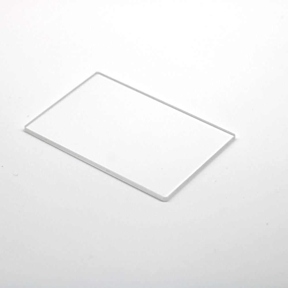 10 قطعة مجموع 20x20 مللي متر تنصهر زجاج سيليكا زجاج النافذة JGS2