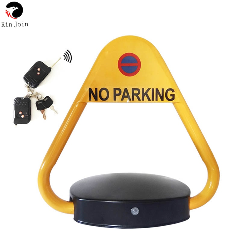 KINJOIN VIP Parking Space Automatic Remote Control Triangle Parking Barrier Lock For Car