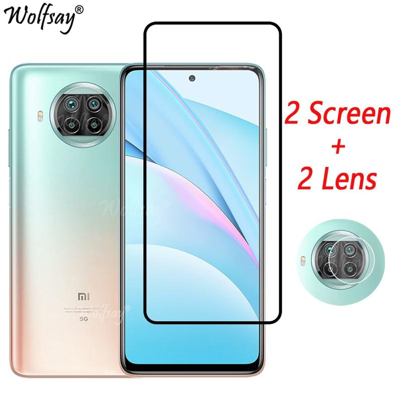 Full Cover Tempered Glass For Xiaomi Mi 10T Lite 5G Screen Protector For Xiaomi Mi 10T 11 Lite Camera Glass Mi 10T Lite 5G Glass недорого