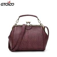women bag vintage shoulder bags 2021 buckle pu leather handbags crossbody bags for women famous brand spring sac femme