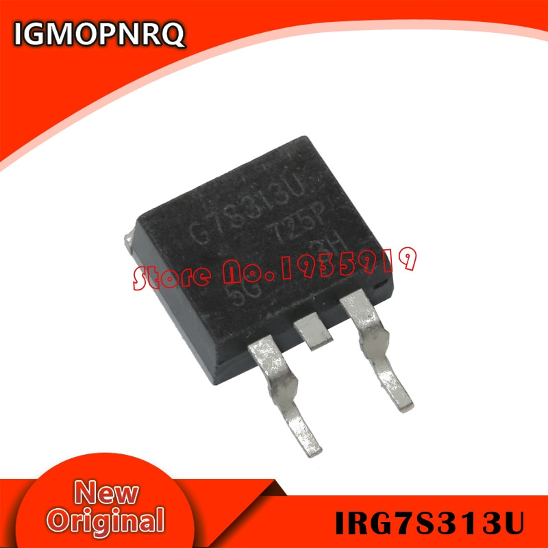 5 piezas ~ 10 piezas 100% nuevo IRG7S313U TO-263 Chipset