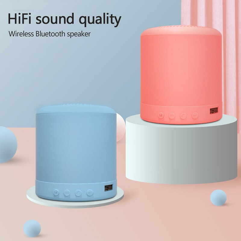 A11 Altavoz Bluetooth Mini, altavoz inalámbrico portátil con USB, Radio FM Mp3, reproductor de música para teléfono móvil