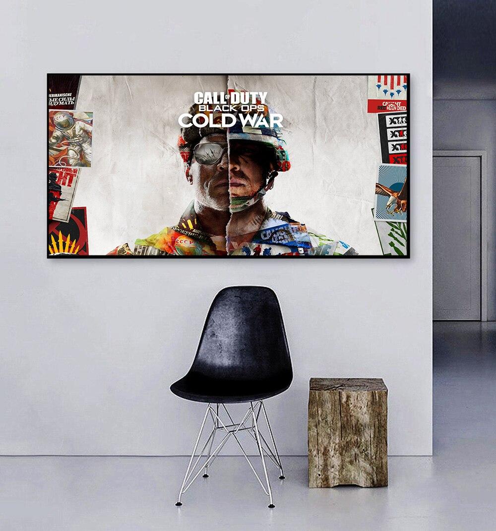 Póster del juego Call of Duty: Black Ops para decoración del hogar,...