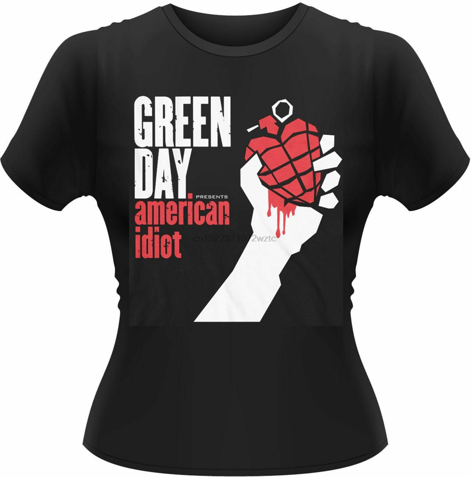 Camiseta para chica americana de Día Verde