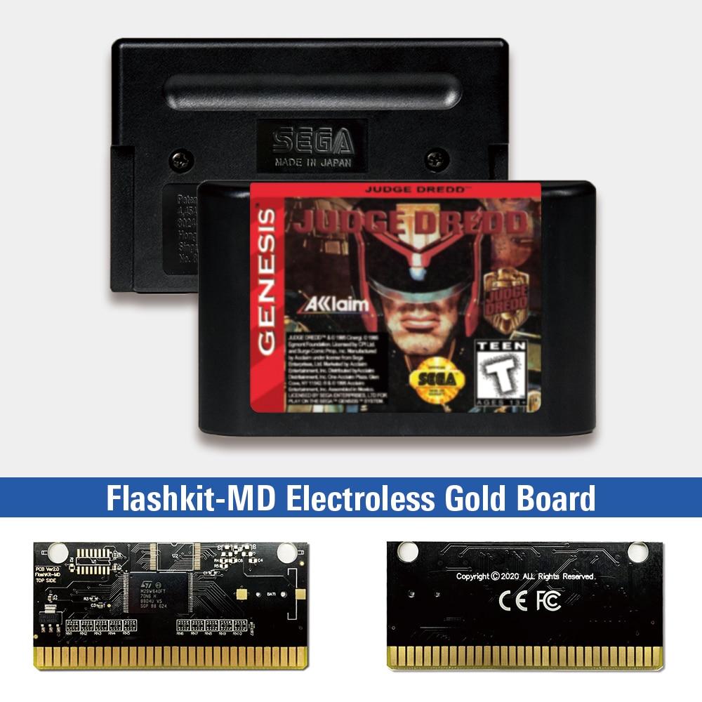 Judge dred-usa Label Flashkit MD tarjeta PCB de oro sin electrodos para...