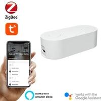 Tuya Zigbee Bridge Smart Home Zigbee Gateway Hub Remote Control Devices Tuya Smart Life APP Applicable To Alexa Google Assistant