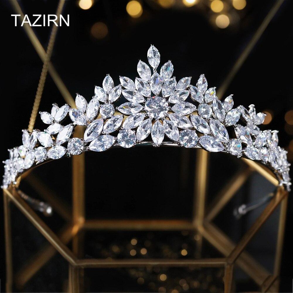 Tiaras y coronas con diseño De flores para mujer, tocado De cobre...