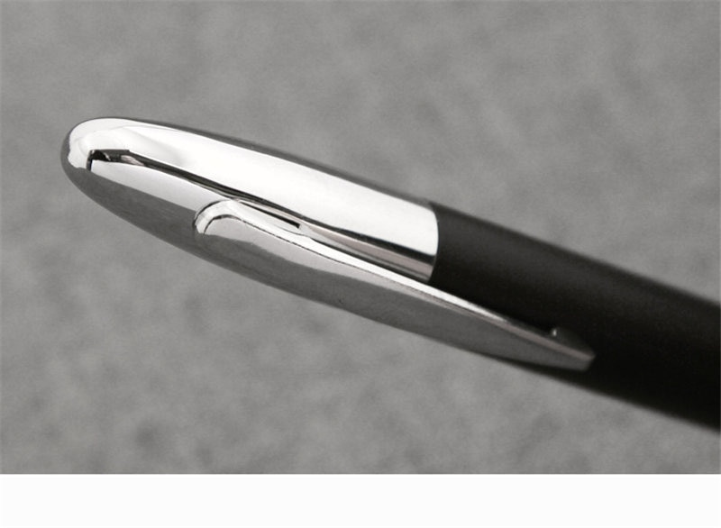fasshion 2020 Executive Snake Clip And Silver  Bib Fountain Pen 1.5mm