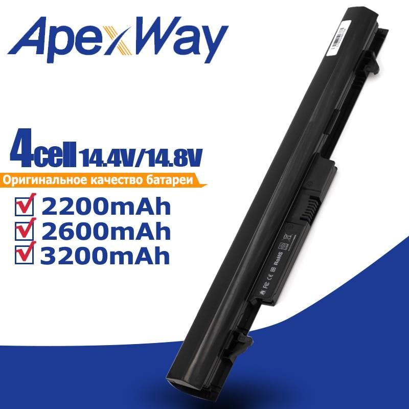 ApexWay 4 خلايا 14.8V بطارية لابتوب HP HSTNN-IB4L HSTNN-W01C 707618-121 768549-001 RA04 H6L28AA ل HP ProBook 430 G1 G2