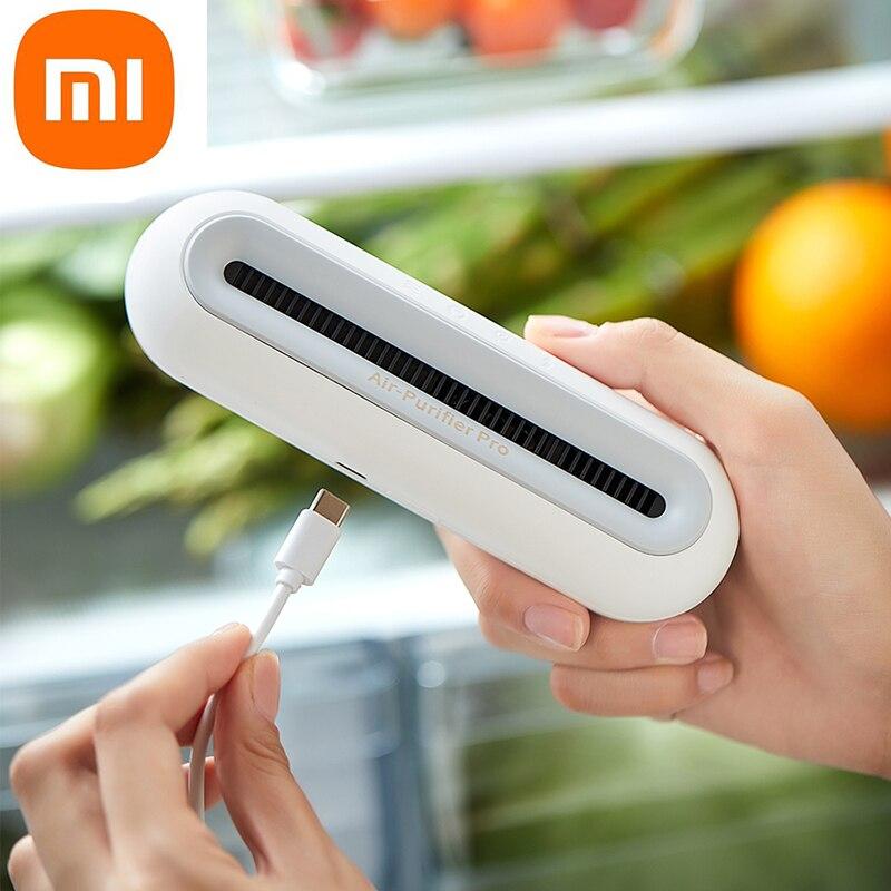 مزيل عرق شاومي ميجيا إراكلين برو لتنقية الهواء لإزالة الروائح الكريهة من الثلاجة المنزلية مزيل عرق لحفظ الأغذية