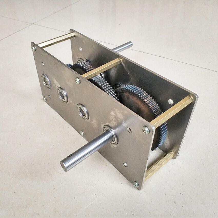 كرنك اليد مولد سرعة زيادة صندوق التروس يمكن تخصيص الرياح ترس نقل هيدروليكي مجموعة صندوق تخفيض علبة التروس