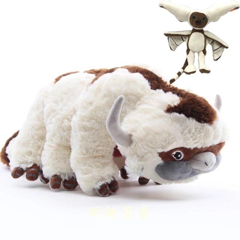 Самый дешевый 4 стиля аниме Kawaii Аватар The Last Airbender Appa плюшевый ТВ-сериал, плюшевые набивные куклы, детские игрушки