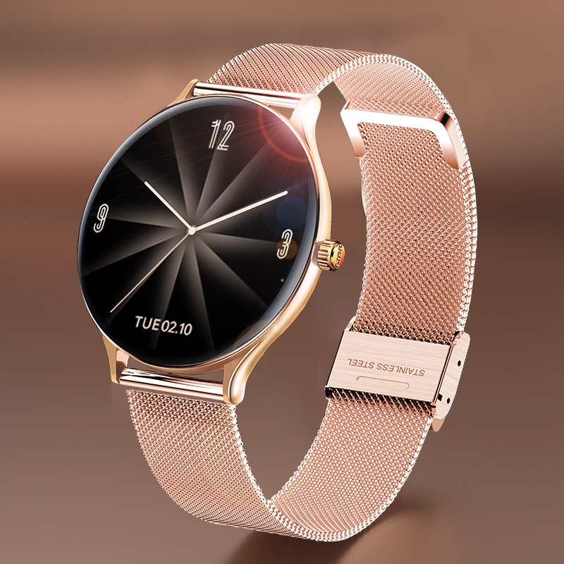 LIGE 2021 New Women Smart Watch Woman Fashion Watch Heart Rate Sleep Monitoring For Android IOS Wate