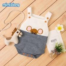 Body vêtements pour bébés   Tenues tricotées pour nourrissons filles et garçons, combinaison une pièce pour enfants 0-2