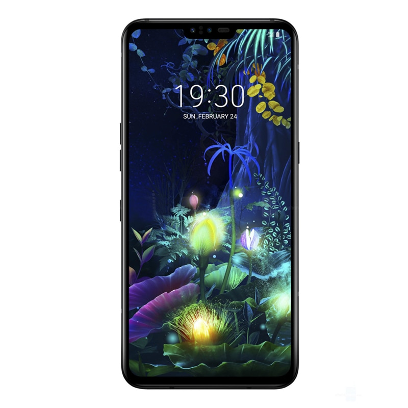 Фото3 - Разблокированный мобильный телефон LG V50 ThinQ Korean V500N Восьмиядерный 6,4 дюйм. 6 ГБ ОЗУ 128 Гб ПЗУ NFC 3 + 2 камеры 16 МП 4G LTE Android смартфон