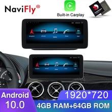 "NaviFly 8 core 4GB + 64GB 10.25 ""1920*720 Android 10,0 Auto-multimedia-player für Mercedes benz B Klasse W246 2013-2014 NTG 4,5"