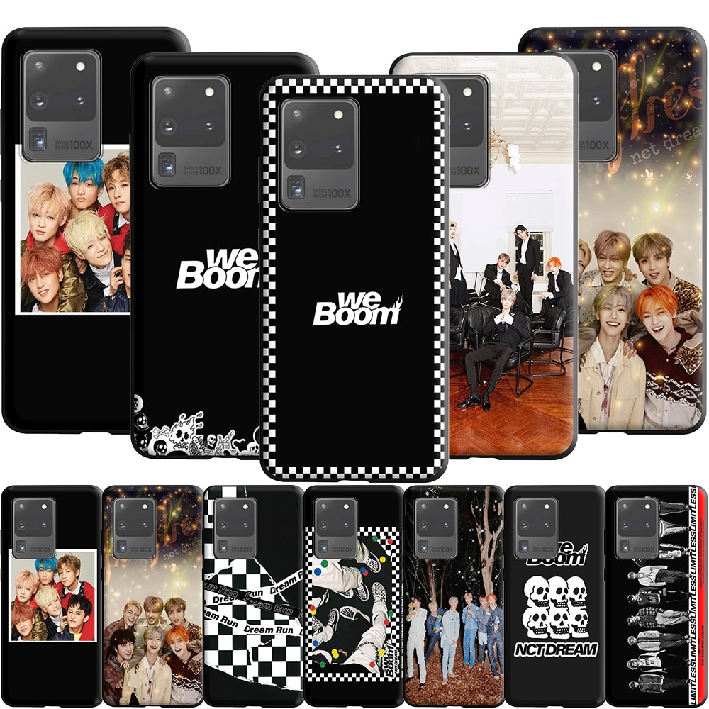 NCT Dream We Boom Fireflies Silicone Case for Samsung Galaxy A5 A6 A7 A8 A9 A2 J4 J6 J7 J8 Plus 2018 Prime