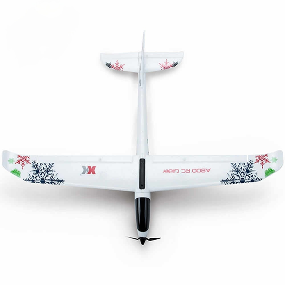 Wltoys XK A800 5-channel RC Plane Forward-pull Fixed-wing Remote Control Aircraft Glider 3D6G Switch Kid's Toy enlarge