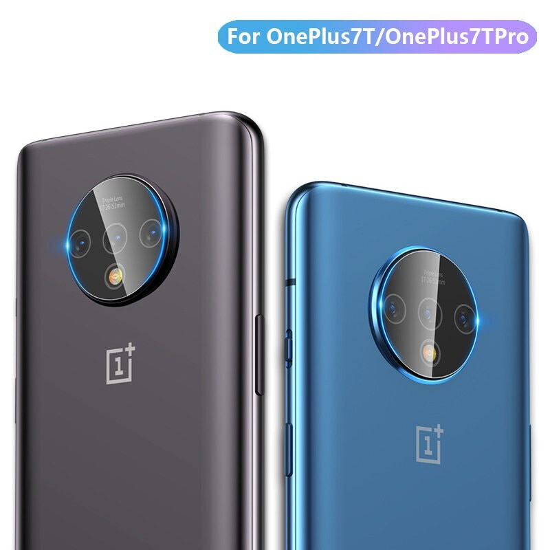 Camera Lens Glass For Oneplus 7T Pro Camera Protector Rear Camera Len Film Tempered Glass One Plus 7