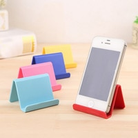 Mobile Phone Holder Candy Mini Portable Fixed Holder Home Supplies Irregular shape 6*4.5cm Simple Stocked Housekeeping Tools