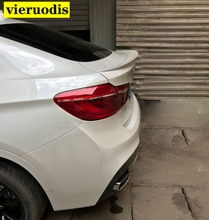 Pour BMW X6 E71 modifié effectuer Style fibre de verre apprêt arrière compartiment à bagages Spoiler voiture aile 2008 ~ 2013